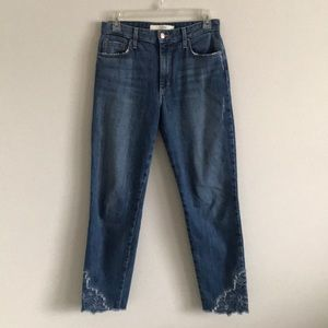 Joe's Jeans High Rise Crop Jeans